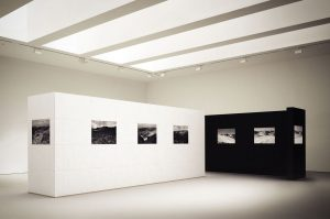 WallStack modular wall structure art gallery photographic exhibition